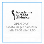 OPEN DAY – Sabato 28/01