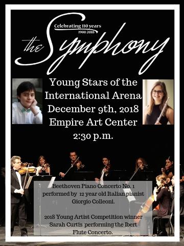 locandina concerto the symphony