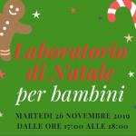 Laboratorio di Natale per bambini