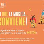 """Promozione """"Amici"""" corsi musicali"""