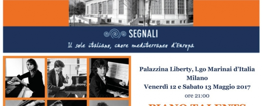 Giorgio Colleoni al Piano Talents 2017