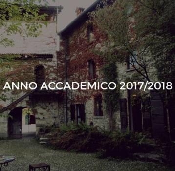 Anno Accademico 2017: nuovi corsi!