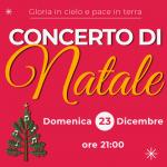 Concerto di Natale 23 dicembre