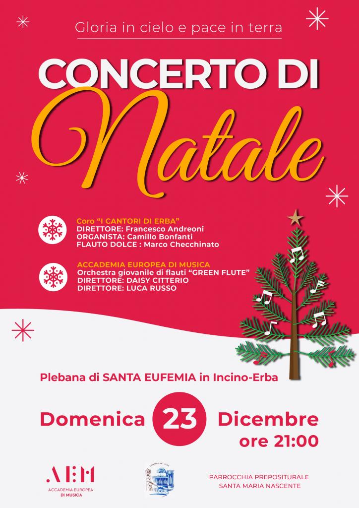 concerto 23 dicembre