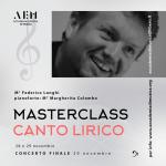 Masterclass Canto Lirico
